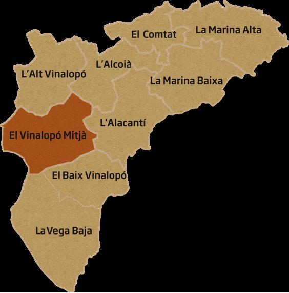 vinalopomitja-mapa